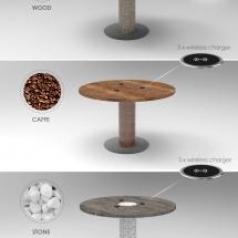 3 Circle charging table