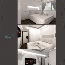 Interior design Galya - renders