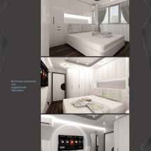 Interior design Galya - renders